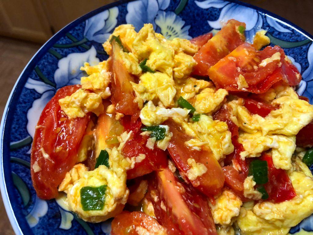 Chinese Tomato Egg Stir Fry