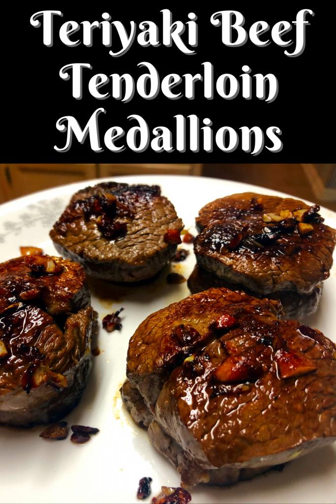 Teriyaki Beef Tenderloin Medallions