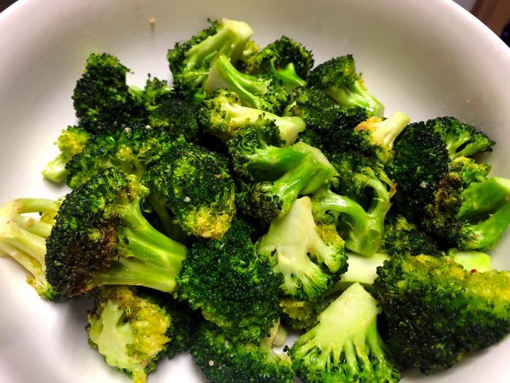 Garlic Broccoli in Air Fryer Recipe