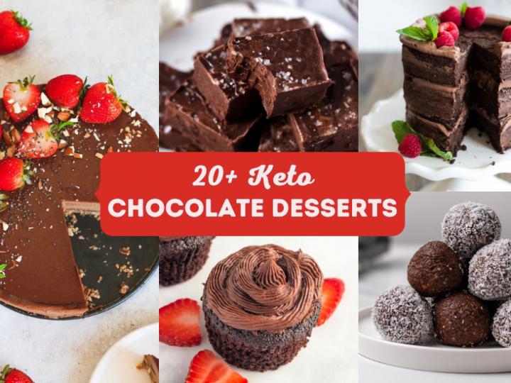 Keto Chocolate Desserts (Gluten Free)
