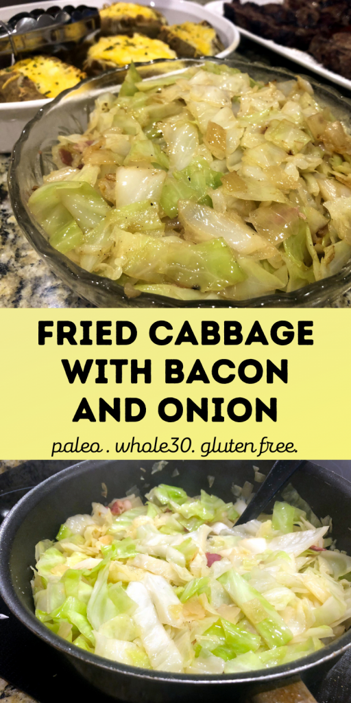 Fried Cabbage and Bacon Recipe