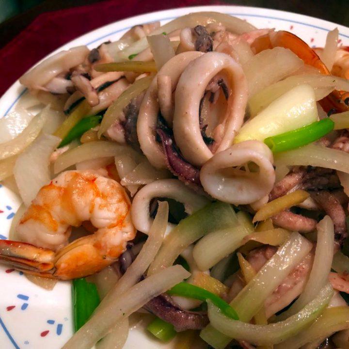 Chinese Seafood Stir Fry