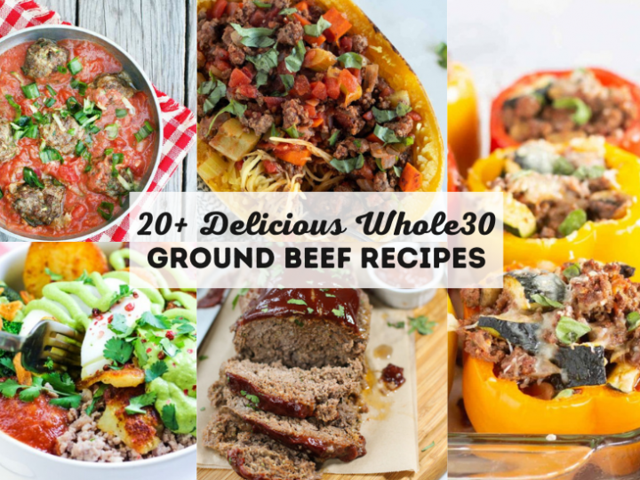 Whole30 Ground Beef Recipes