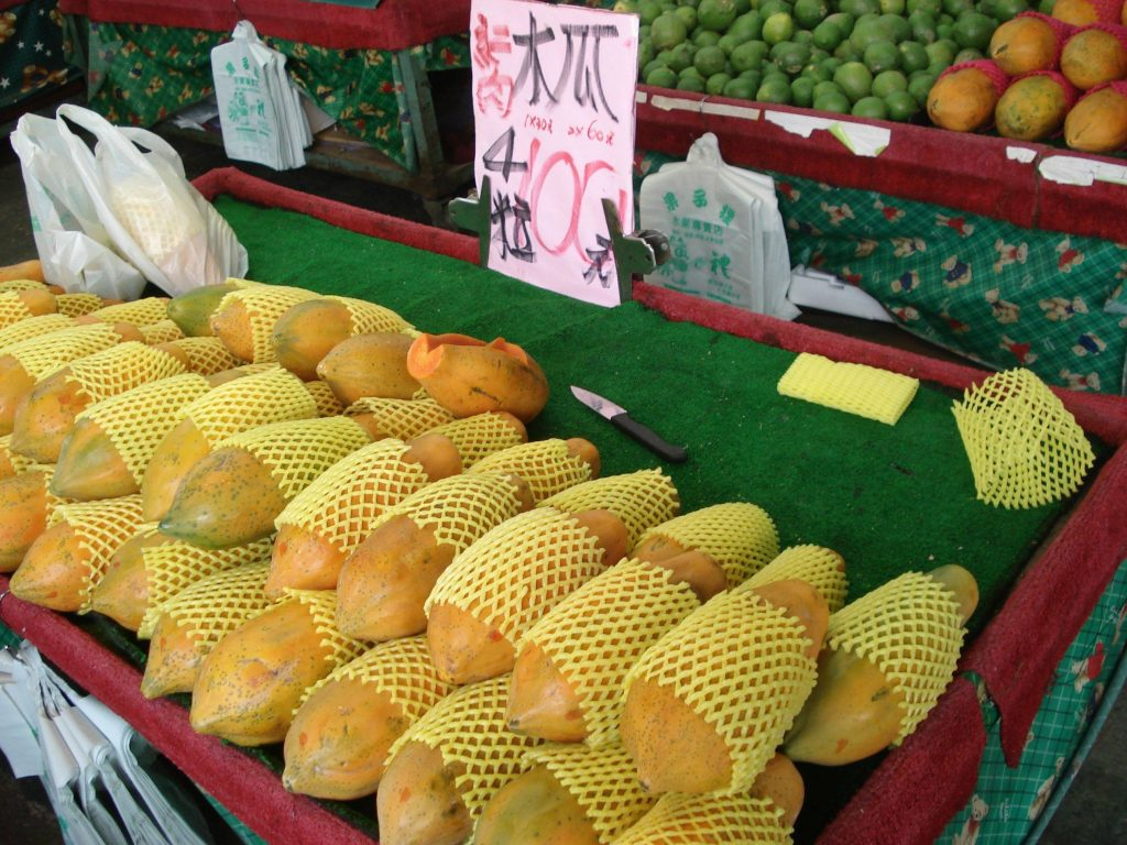 Taiwan Fruit Papaya