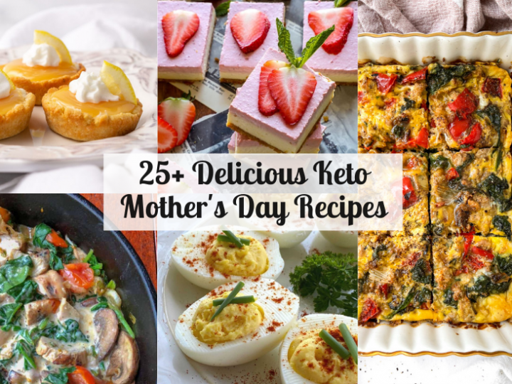 Keto Mother's Day Recipes