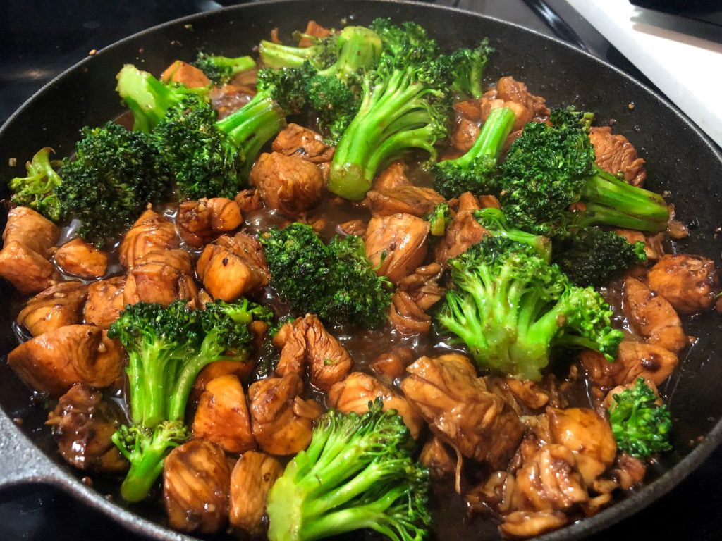 chicken with broccoli chinese recipe