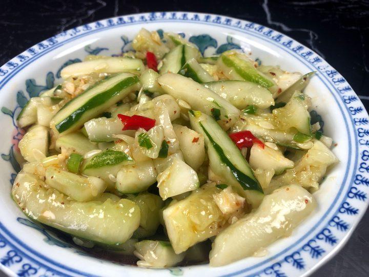 Chinese Cucumber Salad