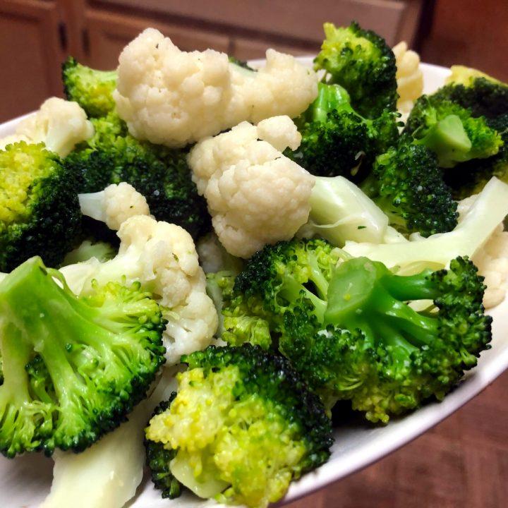 Broccoli and Cauliflower Stir Fry
