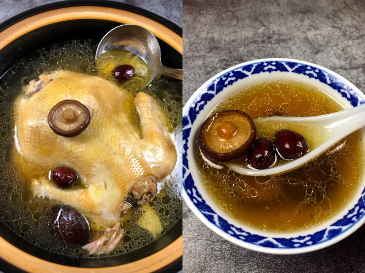 Chinese Chicken Mushroom Soup
