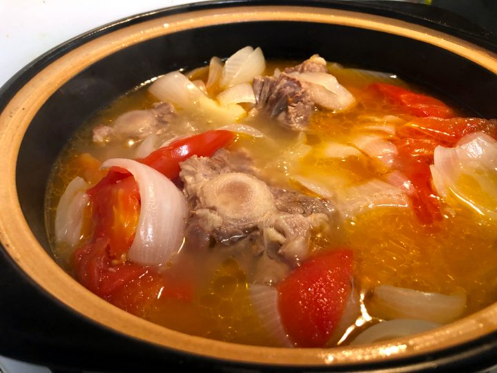 Luo Song Tang (Chinese Borscht Soup)