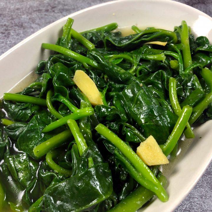 Malabar Spinach Stir Fry Recipe